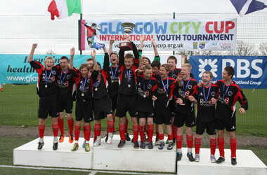 Clydebank United 14s Winners Easter 2011